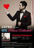 JAY'ED / HOTEL HEART COLLECTOR ポスター
